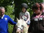 Kids Out - Sophie's first pony ride