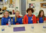 The Sandy Wilson Quiz - The team representing the 30th Company Girl Guides