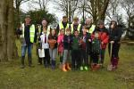 Easter Tree Planting in Clitheroe - Moorland School