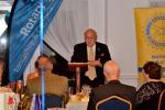 The Rotary Foundation - Rotarian Les Hardy chair of the Foundation committee gave a short talk on the achievements of the charity