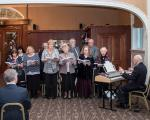 2015 Christmas Lunch - The Da Capo Singers entertained the guests with a programme of carols