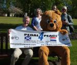 Carnegie Newsletter 4th June 2013: Charter & Pedal 4 Peace -
