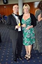 District 1040 Handover June 2012 - David and Caroline