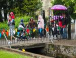 Penicuik in the Park on 25th May 2019 - Duck Race 8 Lone Duck