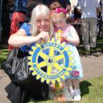 Carluke Gala day June 2013 - Engage Rotary 12