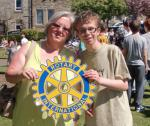 Carluke Gala day June 2013 - Engage Rotary 13