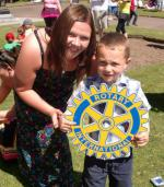 Carluke Gala day June 2013 - Engage Rotary 32