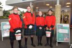 Collecting Saturday and Sunday at Tesco Dunblane to raise funds for Shelter Boxes for areas struck by the recent Hurricanes -