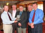 Fellowship Golf Trophy - Grahame, Keith, Martin, Steve, Tim comfortably won the Fellowship Trophy.
