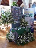 Community Flower Festival - St John Ambulance display