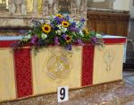 Community Flower Festival - The altar display