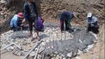 Baspani under construction -
