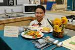 Young Chef Competition - Francesca Tovey-Nesbitt - Display
