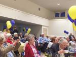First Rotary Dinner at the Refurbished Club - cleary enjoying themselves