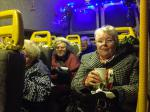 Good Companions visit the Christmas Lights - ready to join in the fun