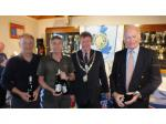 20th Annual Mayor of Truro's Charity Golf Day, 12 May 2017 - Winners of the Seniors' competition, The Last Gasp
