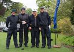 2015 Charity Golf Tournament  - persevering through the rain
