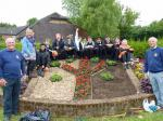 12 June 2013 - Pupils from Stony Dean School get planting -
