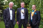 2013 Rotary Pesidential Handover - Gary and new Team