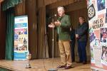 Junior Youth Speaks Competition 2018 - Head judge Philip Porter