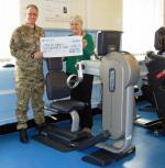 Charities we have or are supporting - Cheque Presentation at RAF Halton