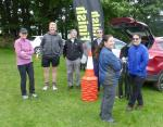James Herriot Run Report 2017 - Timekeeping team from Swaledale Roadrunners