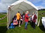 James Herriot Run Report 2017 - Registration tent