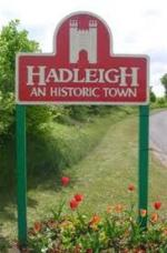 Photos of Hadleigh - Town sign in Gallows Hill