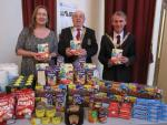 Club Activities - We support the local foodbank each month and on special occasions with donations of food