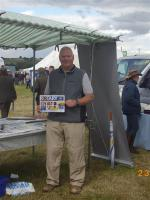 Rotary club presence at Wensleydale Show - Rtn Mike Chilton