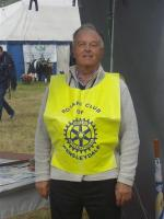 Rotary club presence at Wensleydale Show - Rtn David Milner