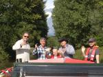 2013 Barge Trips for Local Community Groups - Enjoying the last of the summer rays