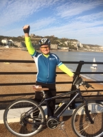 On Your Bike - our members raise over £1.4 K for Pilgrims Hospices - Chris completes at Dover