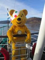 Children in Need 2014 - One of the crew?