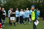 May 2012 Tommy McLafferty Football Tournament for Homeless communities - Organiser Mike Smith giving the players briefing