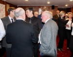 Annual Burns Supper 15th January 2020 - Guests gathering in the reception.