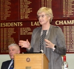 Annual Burns Supper 15th January 2020 - Maureen McKerrow Presenting the Reply from the Lassies.