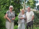 Oakworth Sensory Garden  - It takes three to supervise!