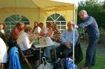 Jun 2012 Club Barbeque - Harlton (no meeting at the University Arms) - Colin with Richard and friends.