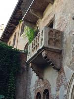 VERONA trip Oct 2016 - Juliet's balcony
