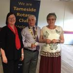Handout Donations to Tameside Local Organisations  - Sue Carrigan & Jenny Boff