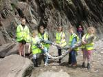 Interact Club - Ilfracombe Interact organised a beach clean
