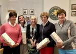 The Rotary Club of Thornhill and District's Am-Am 2018 - Winner of the best net team score at the 16th hole: went to The Biggar Ladies, with a net score of 8.