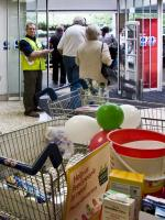 Stroud Food Bank Collection at Tesco -