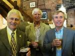 President's Night and 25th Anniversary of Charter Celebration - L-R: Arthur Law, Keith Wilson, Gary Allmark