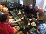 Kirkham Rotary coast to coast ride 2016 - Evening meal at The racecourse