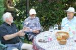 Walk and BBQ at Jim and Beryl's Home.  -