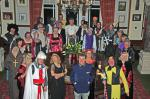 Away Weekend - The knights and ladies gather by the  superb round table