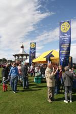 Community & Vocational - We fly the flag at a number of local major events including the Nairn Games and the Farmers' Show