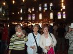 Istanbul Cultural Visit - Jan, Flick and Wilma inside the Blue Mosque